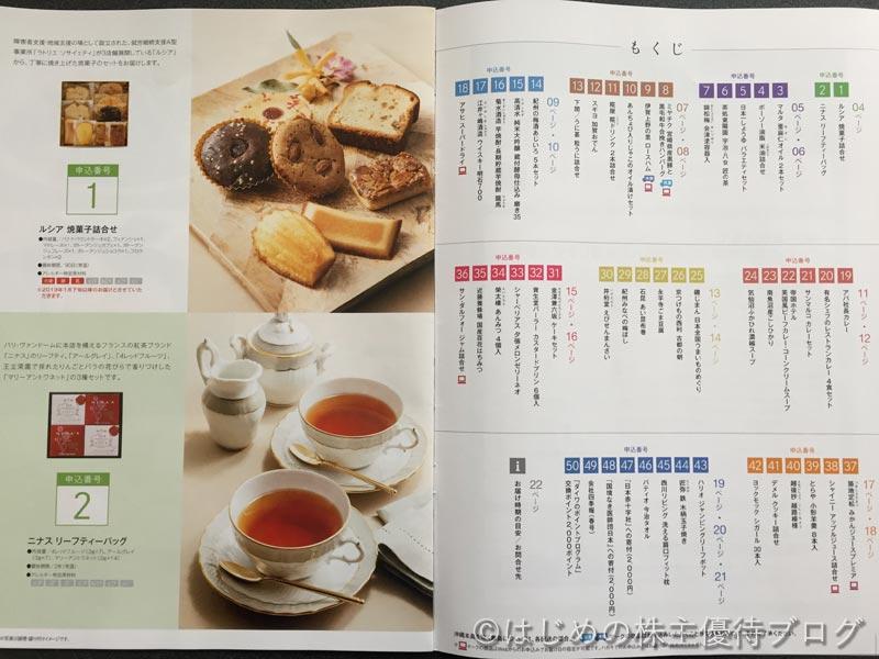 大和証券グループ本社株主優待品カタログ1