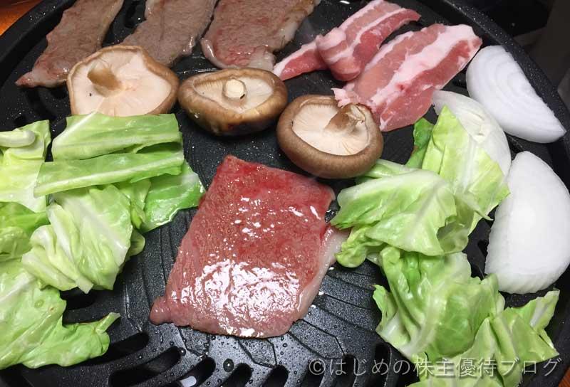 トラスコ中山株主優待宮崎県産黒毛和牛焼肉