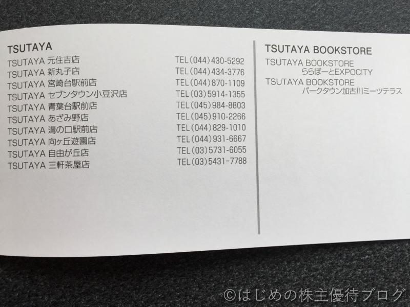ニッケ株主優待対象店舗リスト5