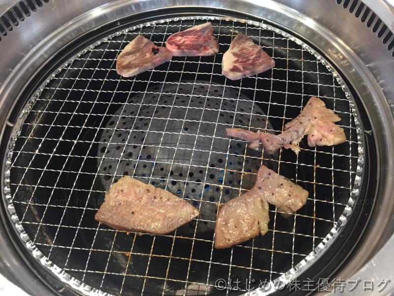 厚切り牛塩タン 柔らかハラミ 焼き
