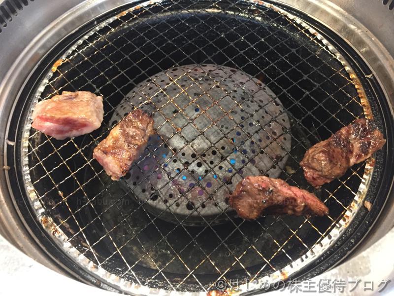 カイノミ 国産牛サイコロカルビ 焼き