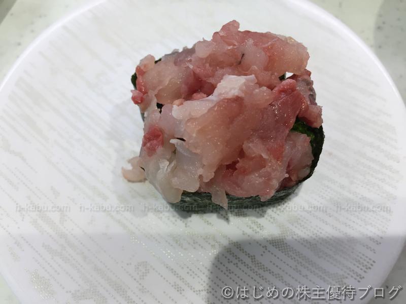かっぱ寿司寿司屋のたたき