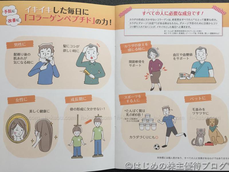 新田ゼラチン株主優待コラーゲンまるわかりBOOK